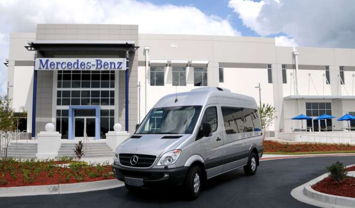 mercedes benz parts distribution center